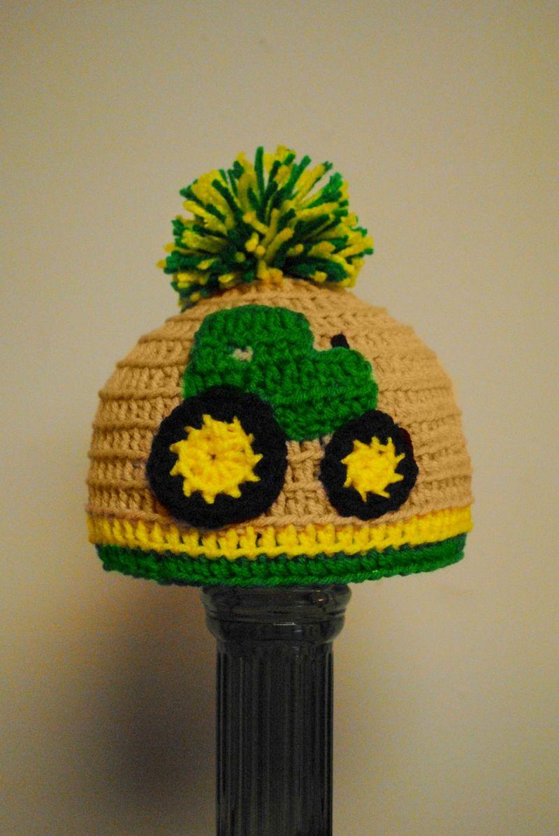 John Deere Crocheted Hat - J E R R I C A J A N E E N